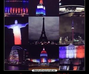 eiffel tower, je suis paris, and france image