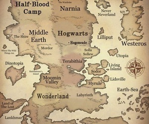 harry potter, hobbit, and hp image