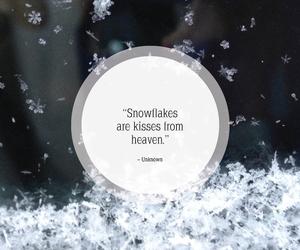 snow, christmas, and december image