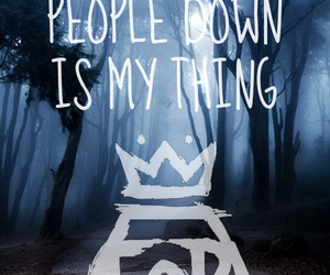 fall out boy, FOB, and just one yesterday image