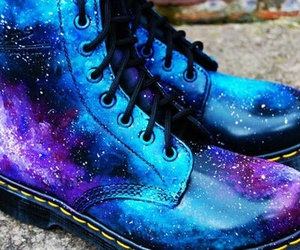 galaxy, shoes, and boots image
