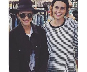 ruby rose, phoebe dahl, and phuby image
