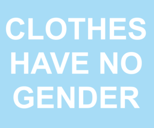 clothes, quotes, and gender image