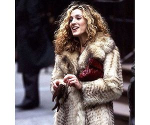 carrie, coat, and girl image