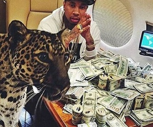 money, tyga, and rich image