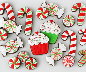 christmas, Cookies, and candy image