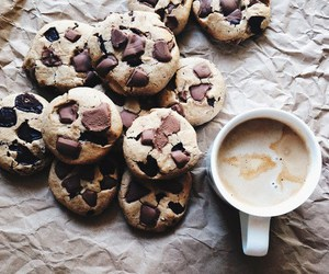 Cookies, delicious, and love image