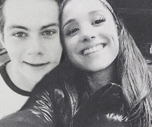 ariana grande and dylan o'brien image