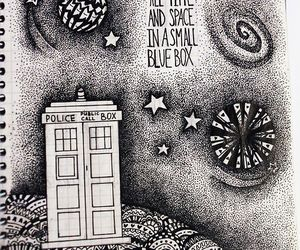 time and space, doctor who, and tardis image