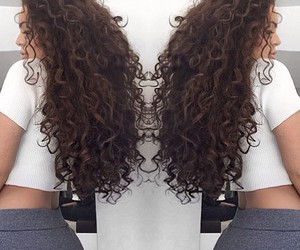 curls, curly, and flawless image