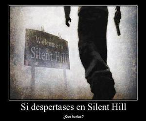 silent hill and desmotivaciones image
