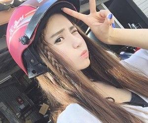 asian, beautiful, and girl image