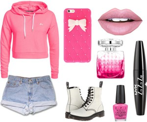 Fashion Pink, Polyvore, and cute pink image