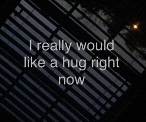hug, moon, and need image