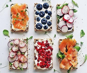 blueberry, salmon, and currant image
