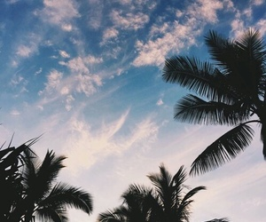 sky, clouds, and summer image