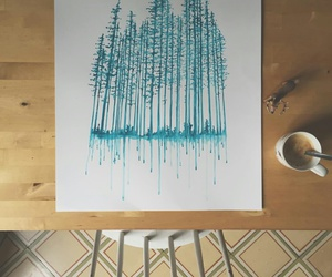 blue and draw image