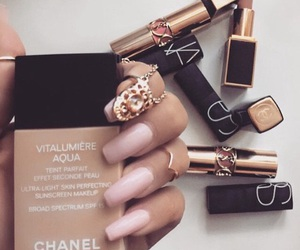 chanel, makeup, and n image