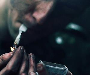 smoke, boy, and man image
