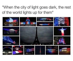 pray for paris and 😔 image