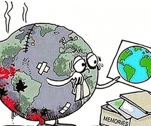 world, sad, and earth image