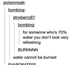 tumblr, funny, and water image