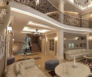 house, beautiful, and rich image