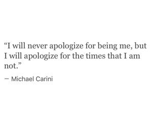 quote, apologize, and me image