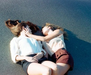 girl, love, and lesbian image