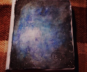 art, paint, and space image