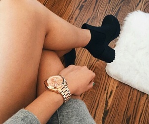 beautiful, boots, and jewellery image