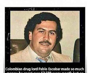 funny, goals, and pablo escobar image