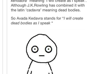 harry potter and avada kedavra image