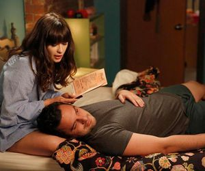 care, funny, and jake johnson image