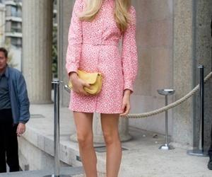 blonde, dress, and miu miu image