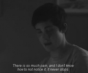 pain, sad, and quotes image