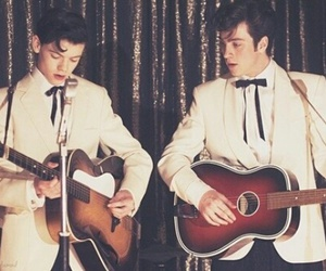nowhere boy, thomas sangster, and aaron johnson image