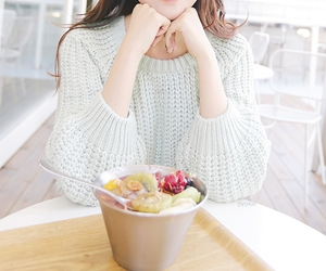 food, pastel, and sweater image