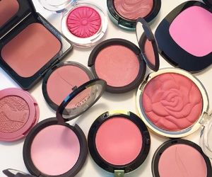 blush, fashion, and pink image
