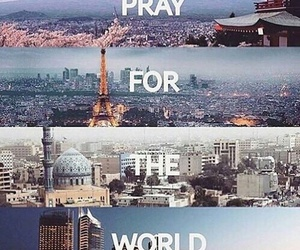 world, pray, and paris image