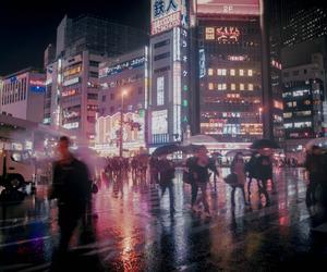 city, light, and grunge image