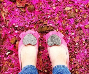 cor de rosa, pink, and shoes image
