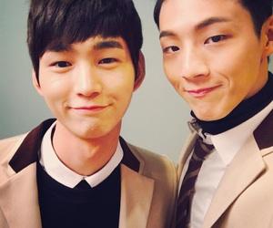 sassy go go, jisoo, and lee won geun image