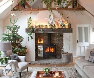 christmas, home, and decoration image