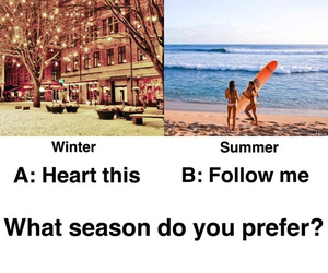 summer, winter, and beach image