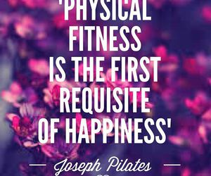 fitness, happiness, and pilates image