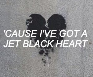black, 5sos, and heart image
