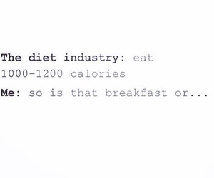 breakfast, diet, and funny image