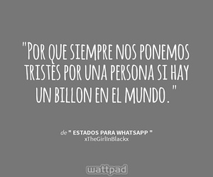 frases, sentimientos, and wattpad image