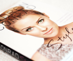 book, makeup, and style image